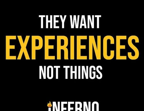 Who to gift experiences, not things.